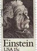 Albert Einstein - US Postage Stamp