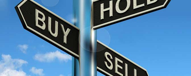 Knowing when to sell or hold a website business.