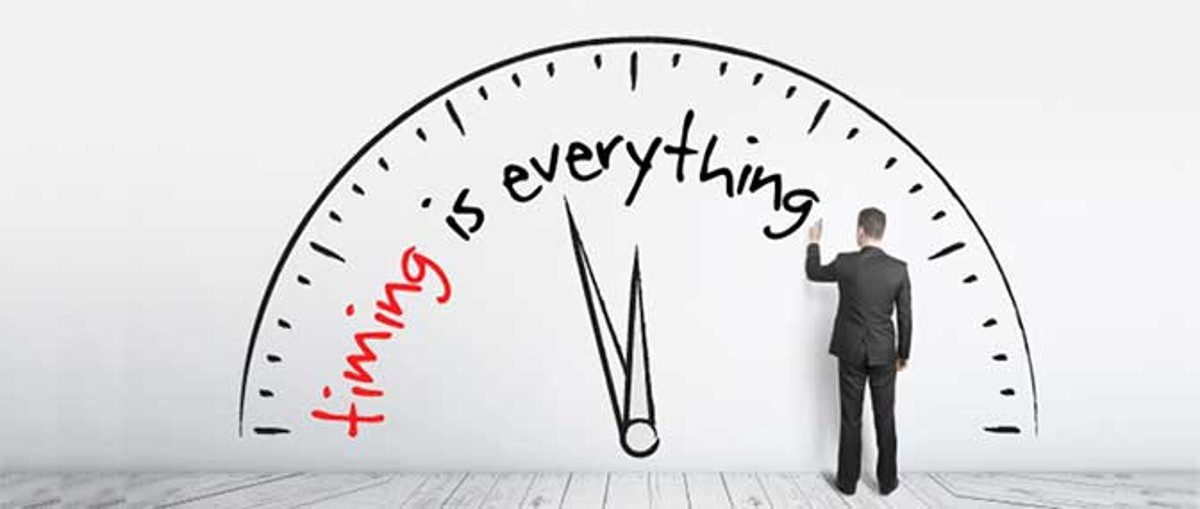 Timing is everything when buying and selling website businesses.