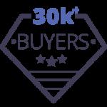 trust badge 30k + Buyers